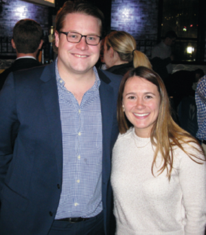 Young Professionals Winter Mixer Success
