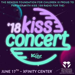 Kiss 108 Kiss Concert Partners with The Genesis Foundation