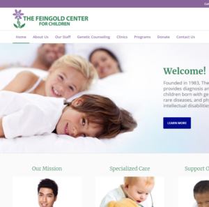 The Feingold Center for Children has a fresh, new look!