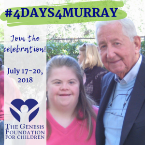 #4Days4Murray: July 17-20